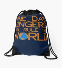 Funny Ginger Hair T Shirt - One Day Gingers Will Rule The World Drawstring Bag
