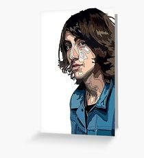 Alex Turner, Arctic Monkeys  Greeting Card