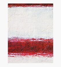 Simply Red 1 Photographic Print