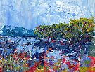 Mangroves at low tide (3239a-Cropped) Print by Paul Gilbert