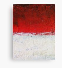 Simply Red 3 Canvas Print