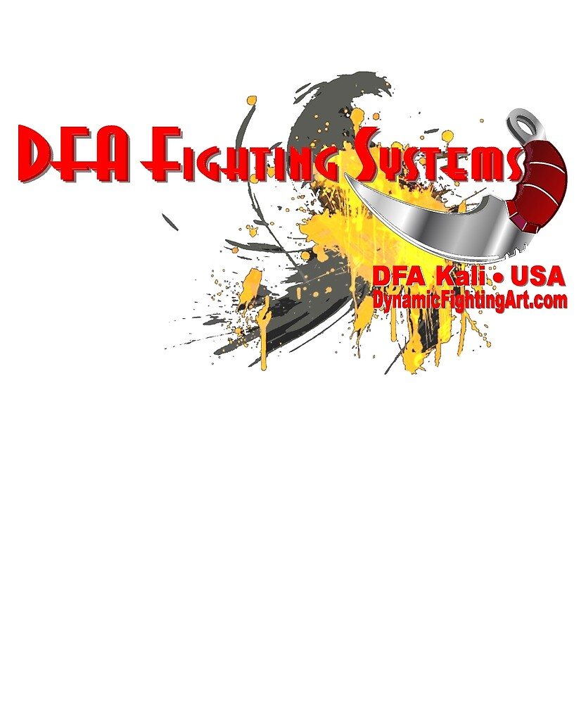 Official Dynamic Fighting Arts design by DfaProductions