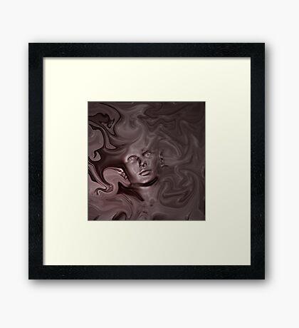 COCOA Framed Print