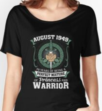 August 1949 Perfect Mixture Of Princess And Warrior Relaxed Fit T-Shirt