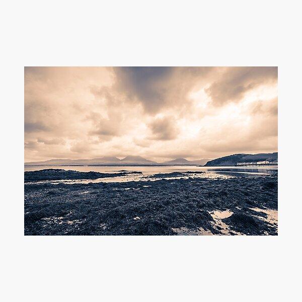 Bunnahabhain Islay Seaweed and Jura Photographic Print