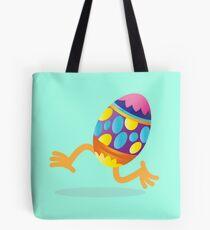 Easter egg running Tote Bag