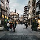 Calle Santiago by Juan Moreno