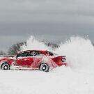 Audi S3 - Snow Drifting - 3 by Scott McKellin