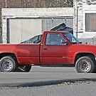Stolen Red Pickup #4 by Bryan D. Spellman