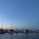 Boats on the water at Nelsons Bay, NSW, Australia  by Mariam Kabbout