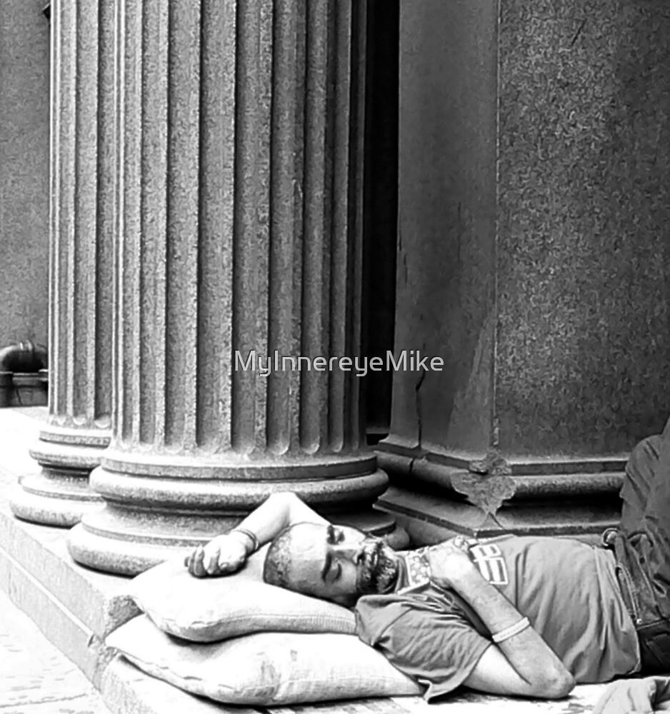 #55     Sleeping Deep Among The Pillars by MyInnereyeMike
