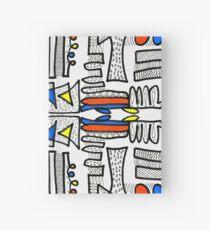 Mondrian Doodle - White Hardcover Journal