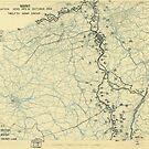 Zwölfter Armeegruppe Lageplan 31. Oktober 1944 von allhistory