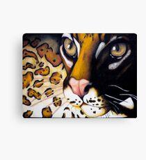 Jungle Cat Canvas Print