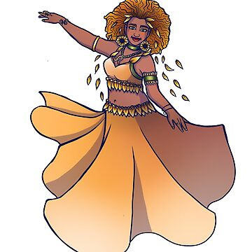 Leo Zodiac Belly Dancer Goddess by Boogiemonst