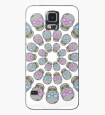 Circle Skulls Case/Skin for Samsung Galaxy