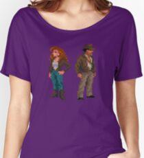 Indiana Jones - pixel art Women's Relaxed Fit T-Shirt