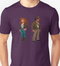 Indiana Jones - pixel art T-Shirt