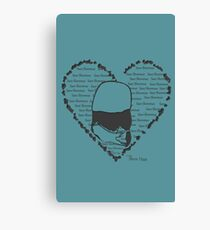 Save Shenmue With All Our Hearts! Canvas Print