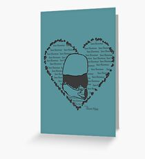 Save Shenmue With All Our Hearts! Greeting Card