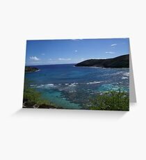 Honomu Bay Hawaii Greeting Card