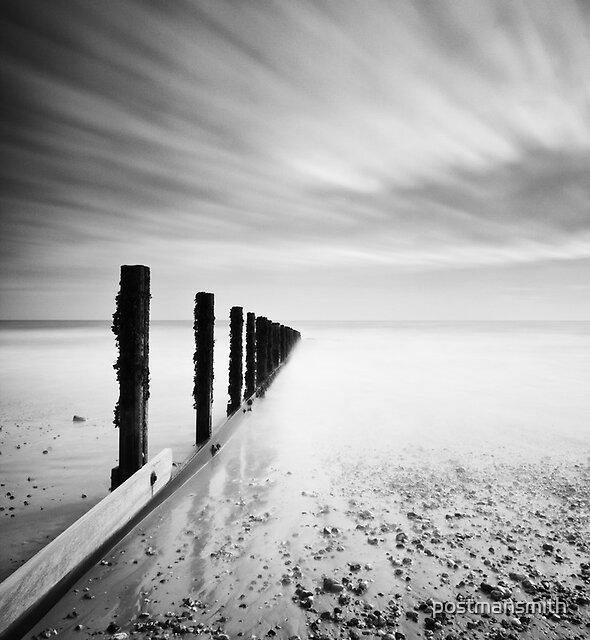 Calm sea, racing sky. Bognor Regis. by postmansmith
