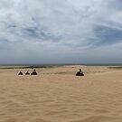 Quad biking at Stockton Sand Dunes at Port Stephens, Australia by Mariam Kabbout