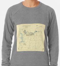 World War II Twelfth Army Group Situation Map June 12 1944 Lightweight Sweatshirt