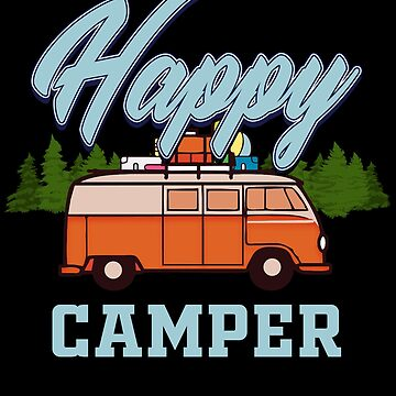 Camping Camper Camp Campfire Tent Campground Campsite Nature Gift by design2try