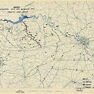 Zwölfter Armeegruppe - Lageplan 24. August 1944 von allhistory