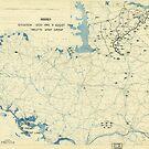 Zwölfter Heeresgruppe Lageplan 8. August 1944 von allhistory