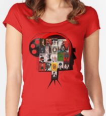 Polskie kino Women's Fitted Scoop T-Shirt