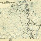 Zwölftes Heeresgruppe Lageplan 21. Oktober 1944 von allhistory