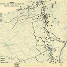 Zwölfter Heeresgruppe Situationsplan 23. Oktober 1944 von allhistory