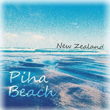 piha beach  by fhjr2002