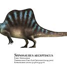 Spinosaurus by Liam Elward