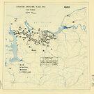 Zwölfter Heeresgruppe Lageplan 3. Juli 1944 von allhistory