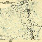 Zwölftes Heeresgruppe Lageplan 24. Oktober 1944 von allhistory