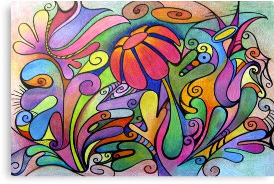 Rabbit Dreams - Card by MelDavies