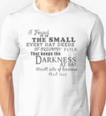Kindness keeps the darkness at bay T-Shirt
