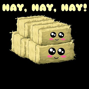 Hay Hay Hay Cute Hay Pun by DogBoo