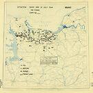 Zwölfter Heeresgruppe Lageplan 15. Juli 1944 von allhistory