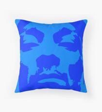 Snoop Dogg Blue Design Throw Pillow