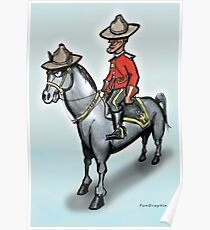 Canadian Mounty Poster