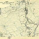 Zwölfter Heeresgruppe Lageplan 11. Oktober 1944 von allhistory