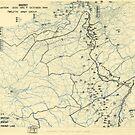 Zwölfter Heeresgruppe Lageplan 7. Oktober 1944 von allhistory