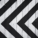Black and white pattern by franceslewis