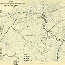 Zwölfter Armeegruppe - Lageplan 14. September 1944 von allhistory