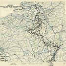 Zwölfter Heeresgruppe Lageplan 31. Dezember 1944 von allhistory