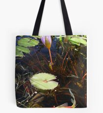Koi and Waterlily Tote Bag